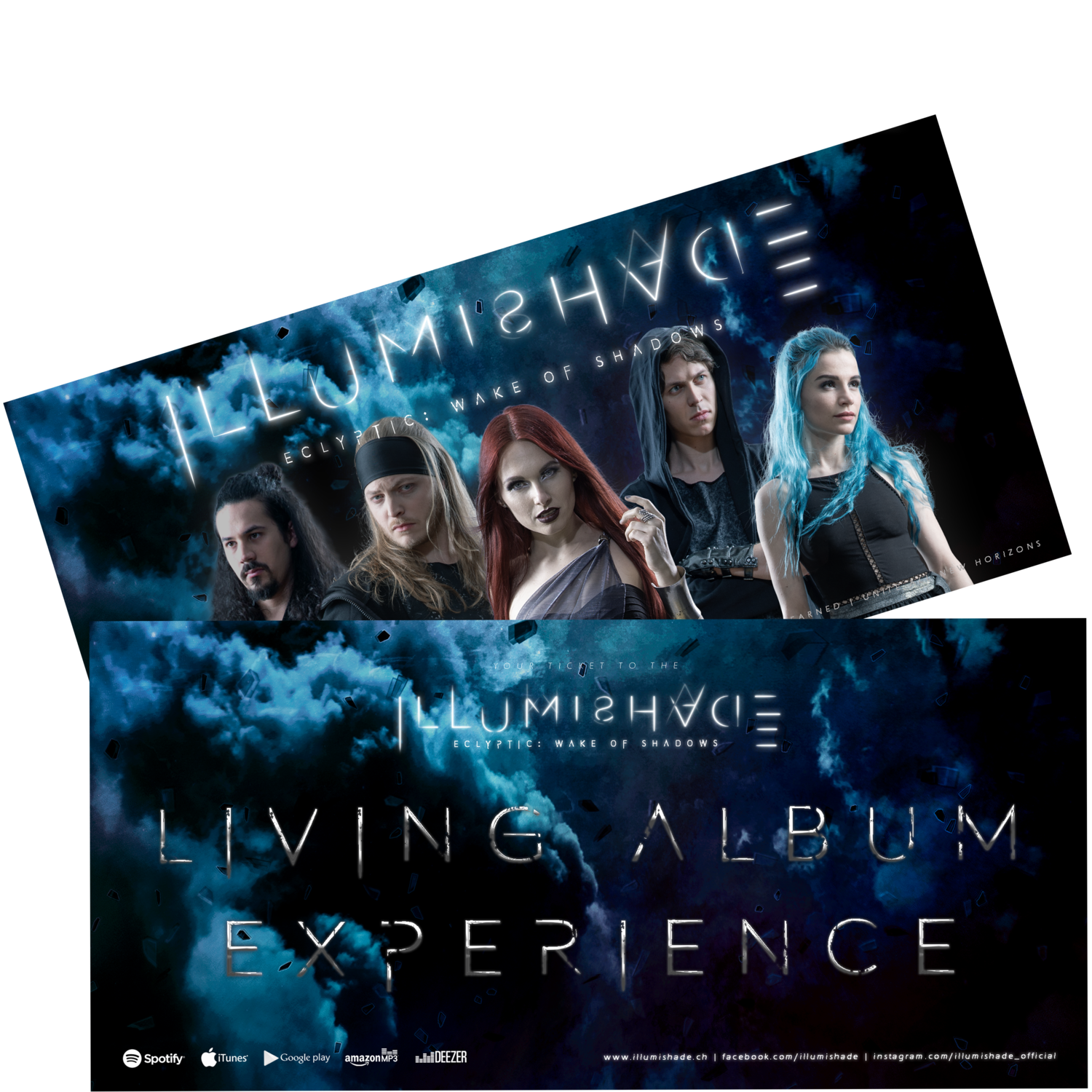 Living Album Experience - Physical Ticket [LIMITED EDITION with Band Signatures]