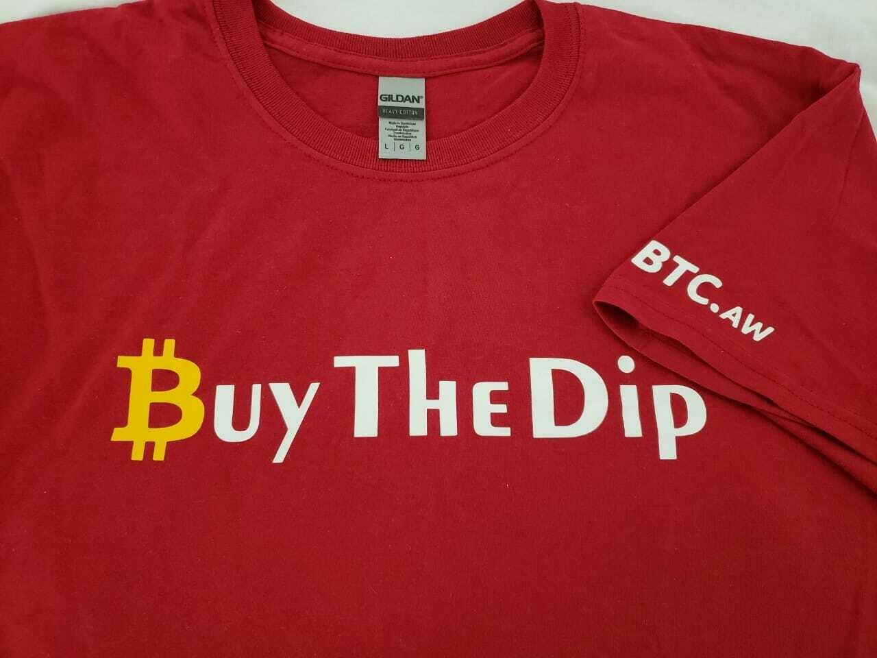 Buy The Dip - Bitcoin Shirt