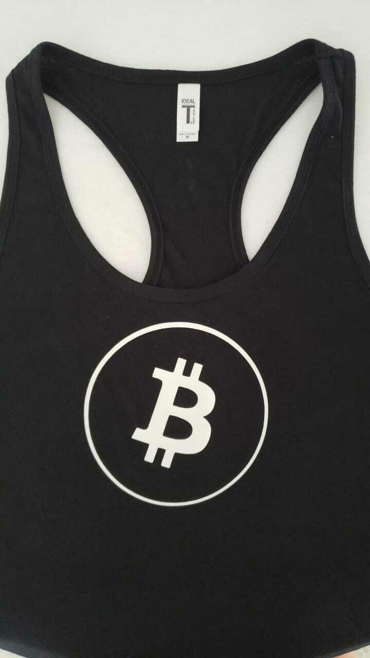 Bitcoin Woman Tank Top