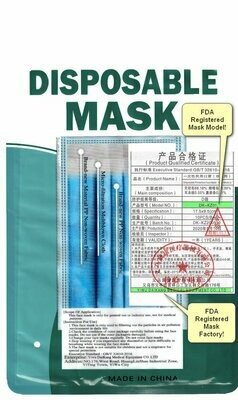 Disposable Non-Medical Masks With Meltblown Middle Layer 90%+. 10-Pack - Only 85¢ each!