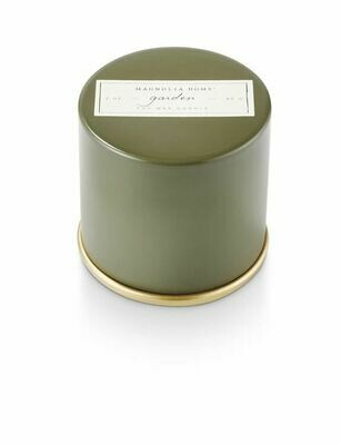 Magnolia Home Garden Candle Tin