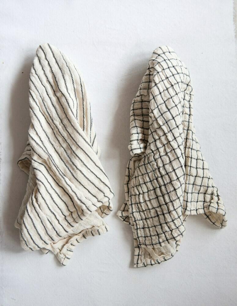Cotton Tea Towel, Natural set of 2