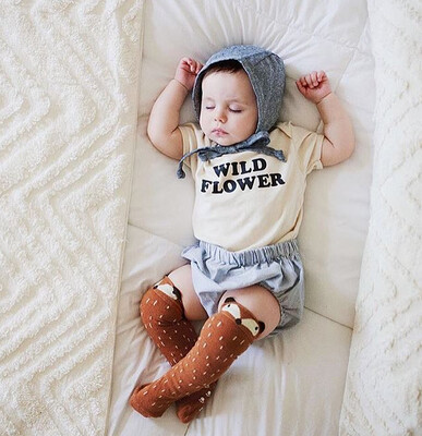 Wild Flower Baby One-piece