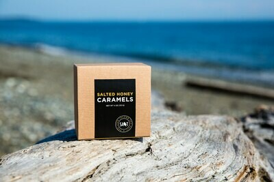 San Juan Island Sea Salt - Salted Honey Caramels