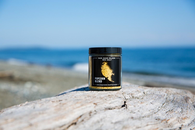 San Juan Island Sea Salt - Popcorn Blend