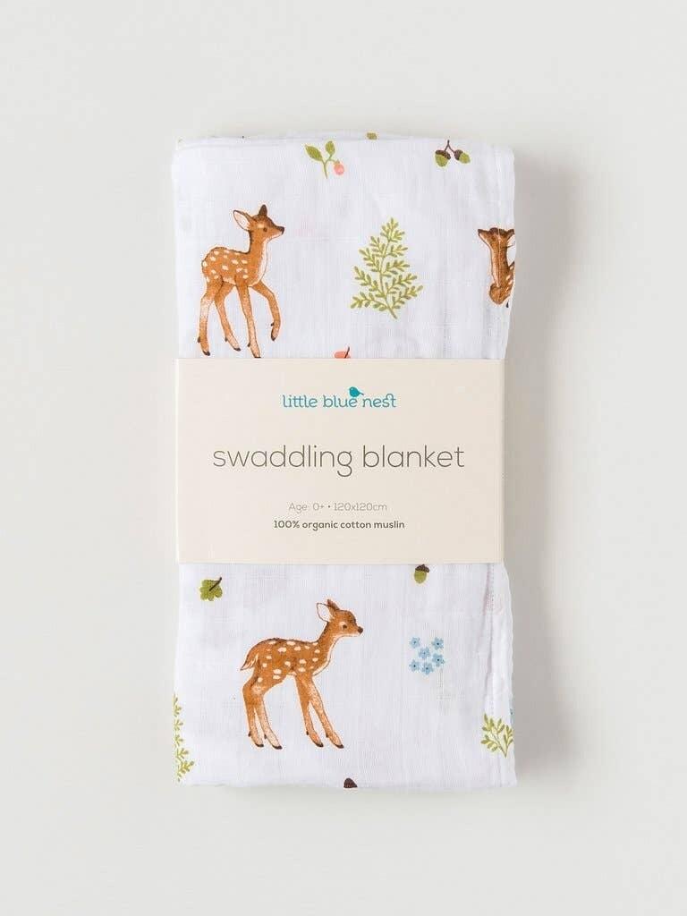 Fawn Swaddling Blanket