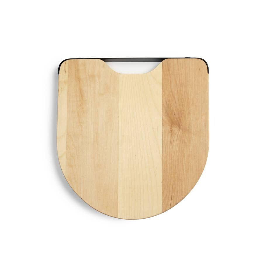 Maple and Steel Cutting Board