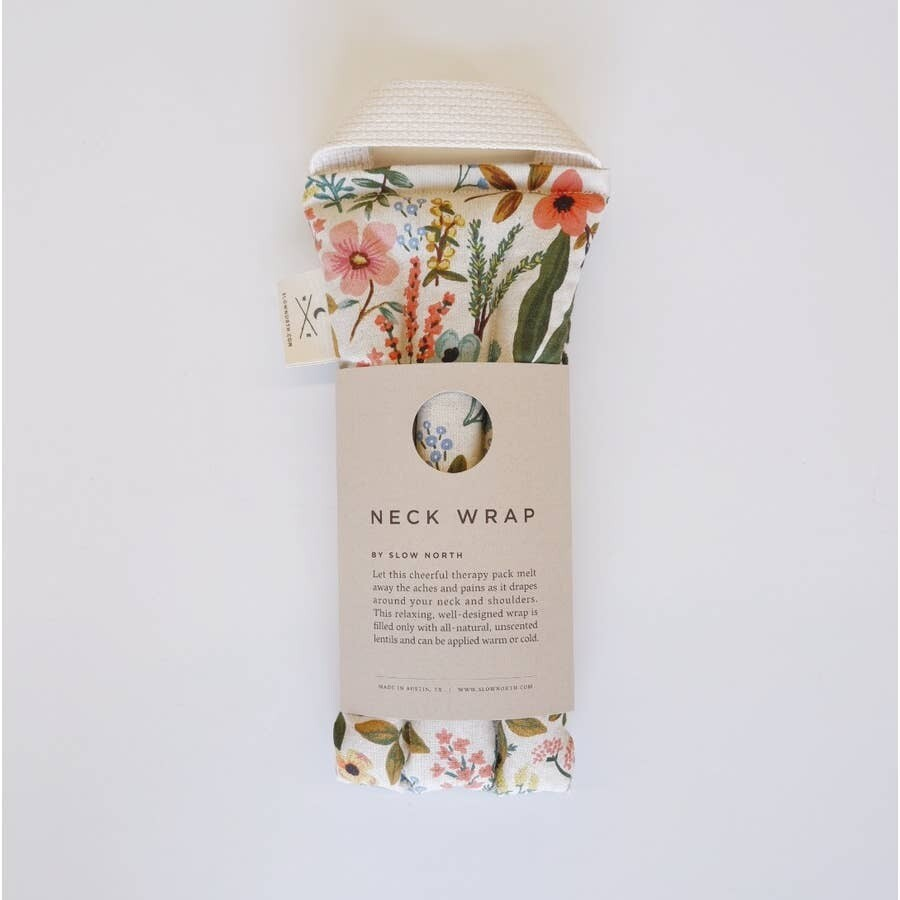 Neck Wrap Therapy Pack- Wildflowers