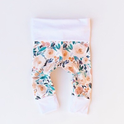 Cotton Leggings - Bloom Floral Print