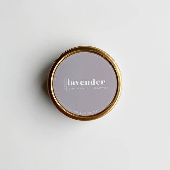 Lavender Blend Tin Candle