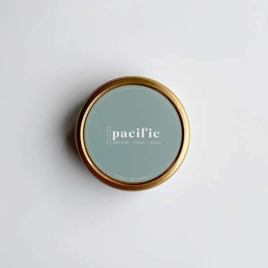 Pacific Tin Candle