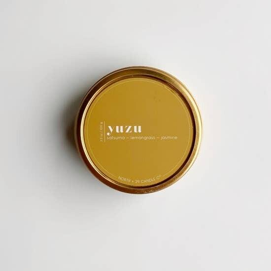 Yuzu Tin Candle