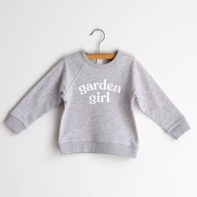 Garden Girl - Girl's Organic Sweatshirt