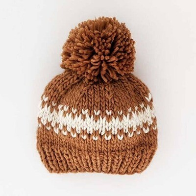 Kids Pecan Knit Hat