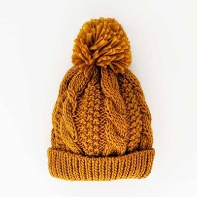 Kids Saffron Knit Hat