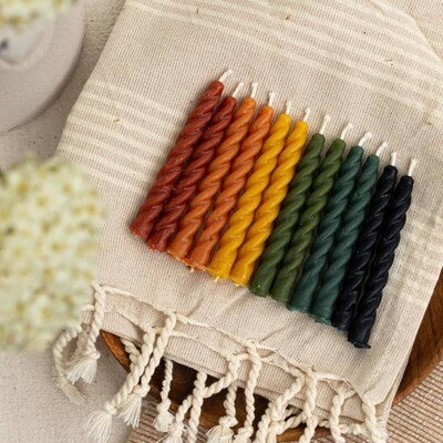 Celebration Beeswax Candles