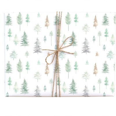 Peaceful Forest Gift Wrap Roll