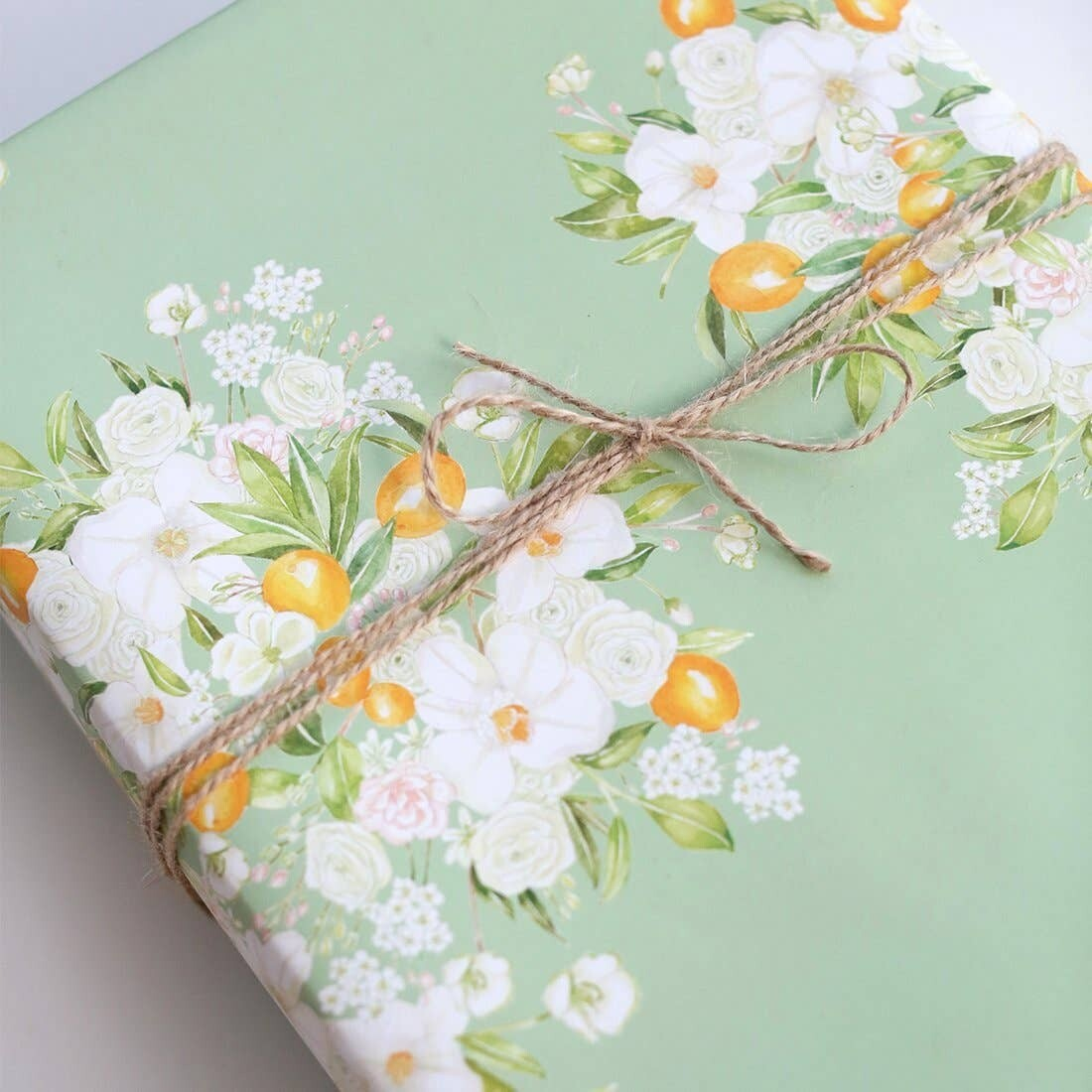 Floral Bursts Gift Wrap Roll