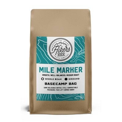 Mile Marker - Regular Medium Roast Coffee - 12oz. Bag
