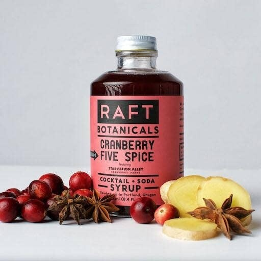Cranberry 5 Spice Cocktail Syrup