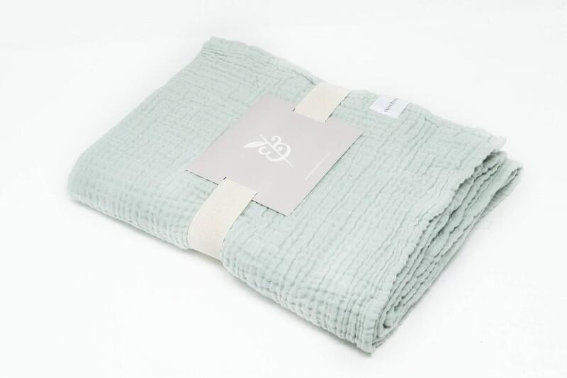 Olive & Loom Baby Blanket - Sage
