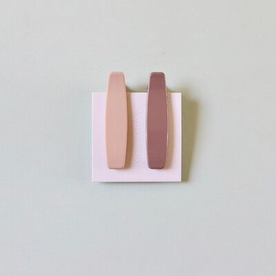 Lani Clips In Pink + Mauve