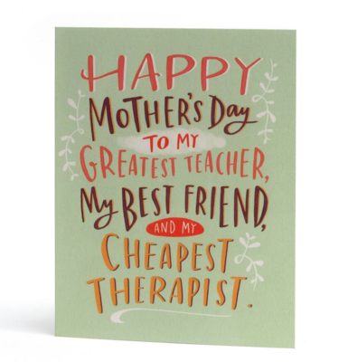 Mother's Day Therapist