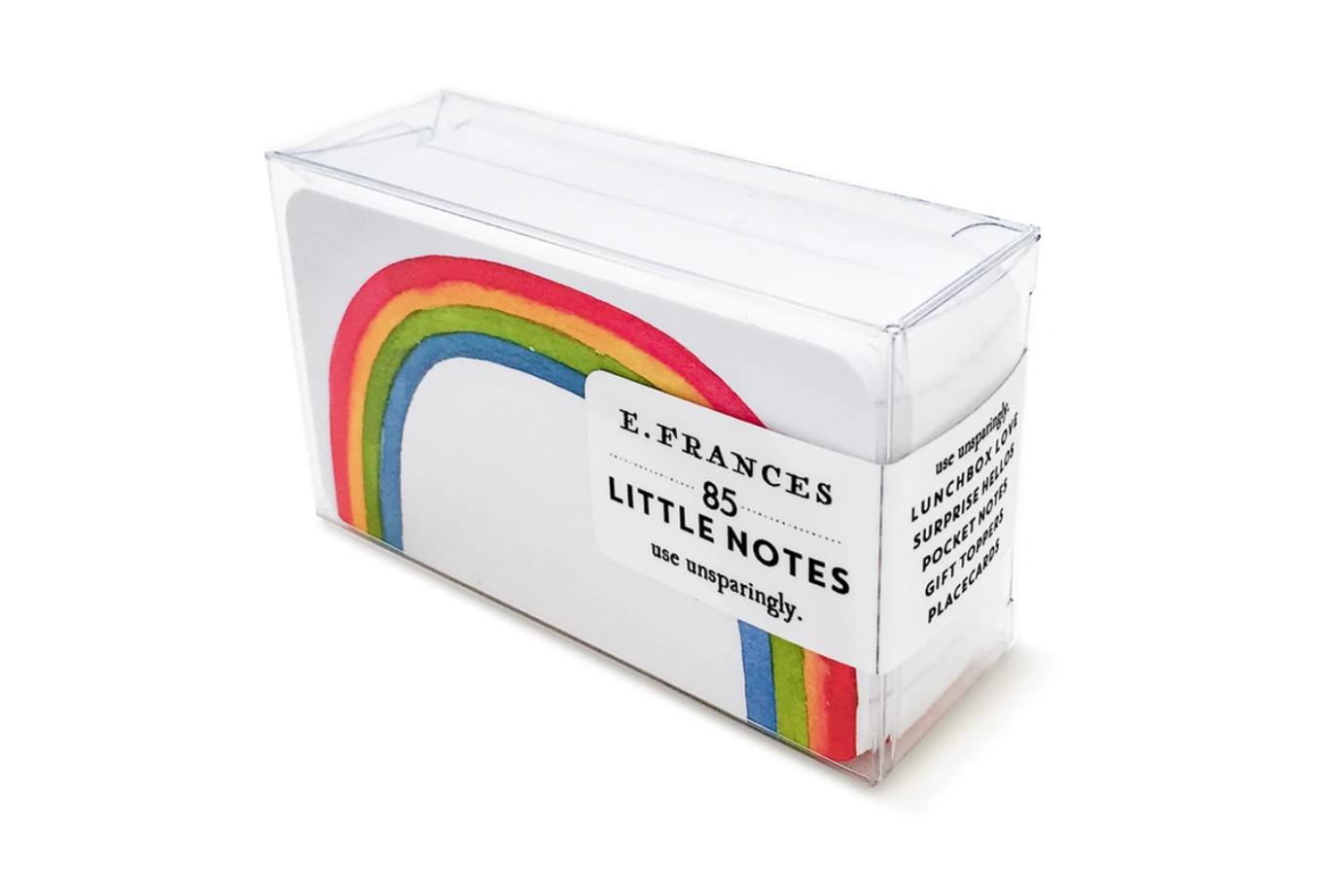 Raindbow little notes