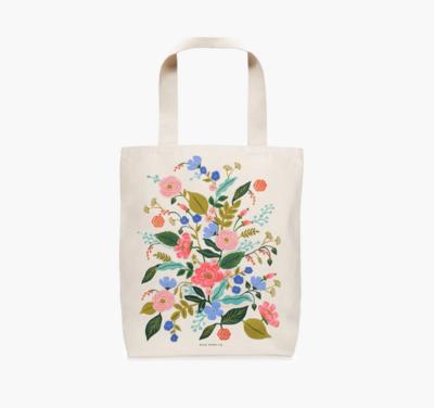 Floral Vines Tote Bag
