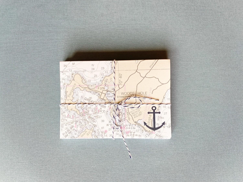 Nautical Chart Stationery