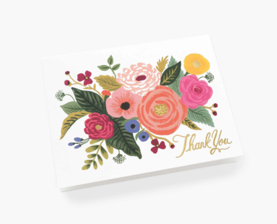 Juliet Rose Thank You Cards