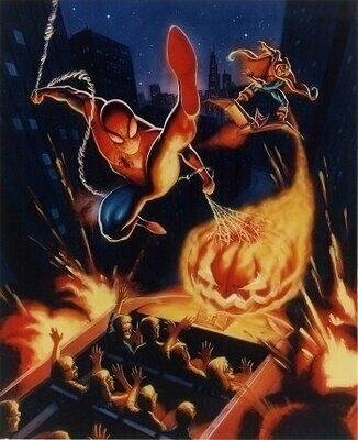 Autographed Spider-Man Print 1