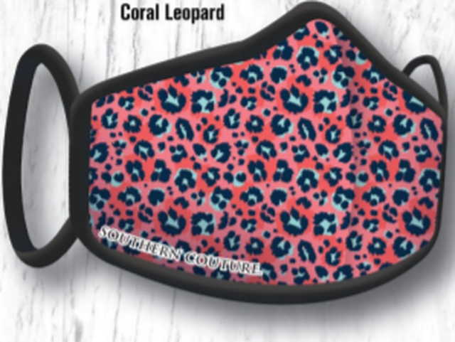 SCAPM16 CORAL LEOPARD