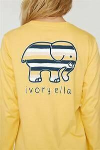 Buff Yellow Stripes LS Ella Tee M