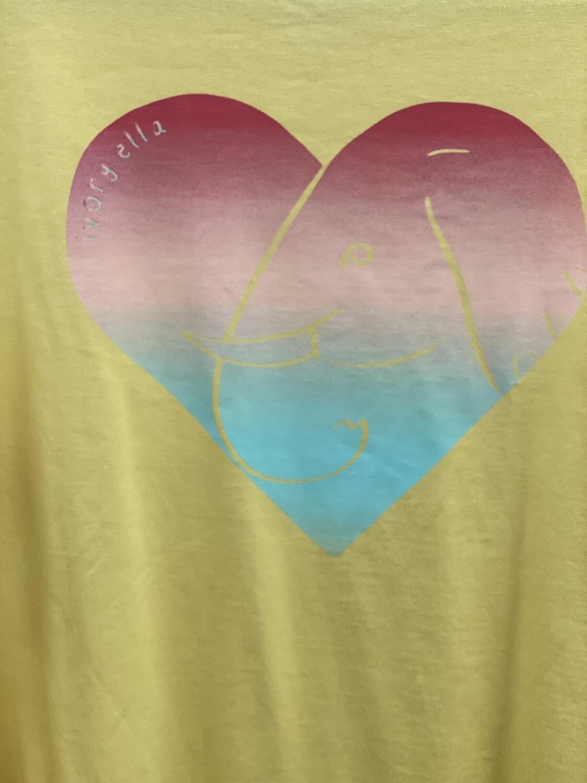 Ella Fit Heart Tee XL