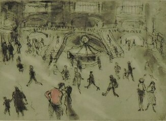 Grand Central by Helen Frank