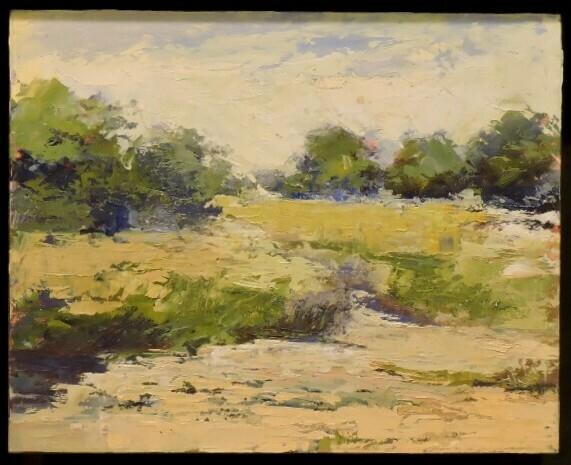 Ochre Field by Trish Hurley
