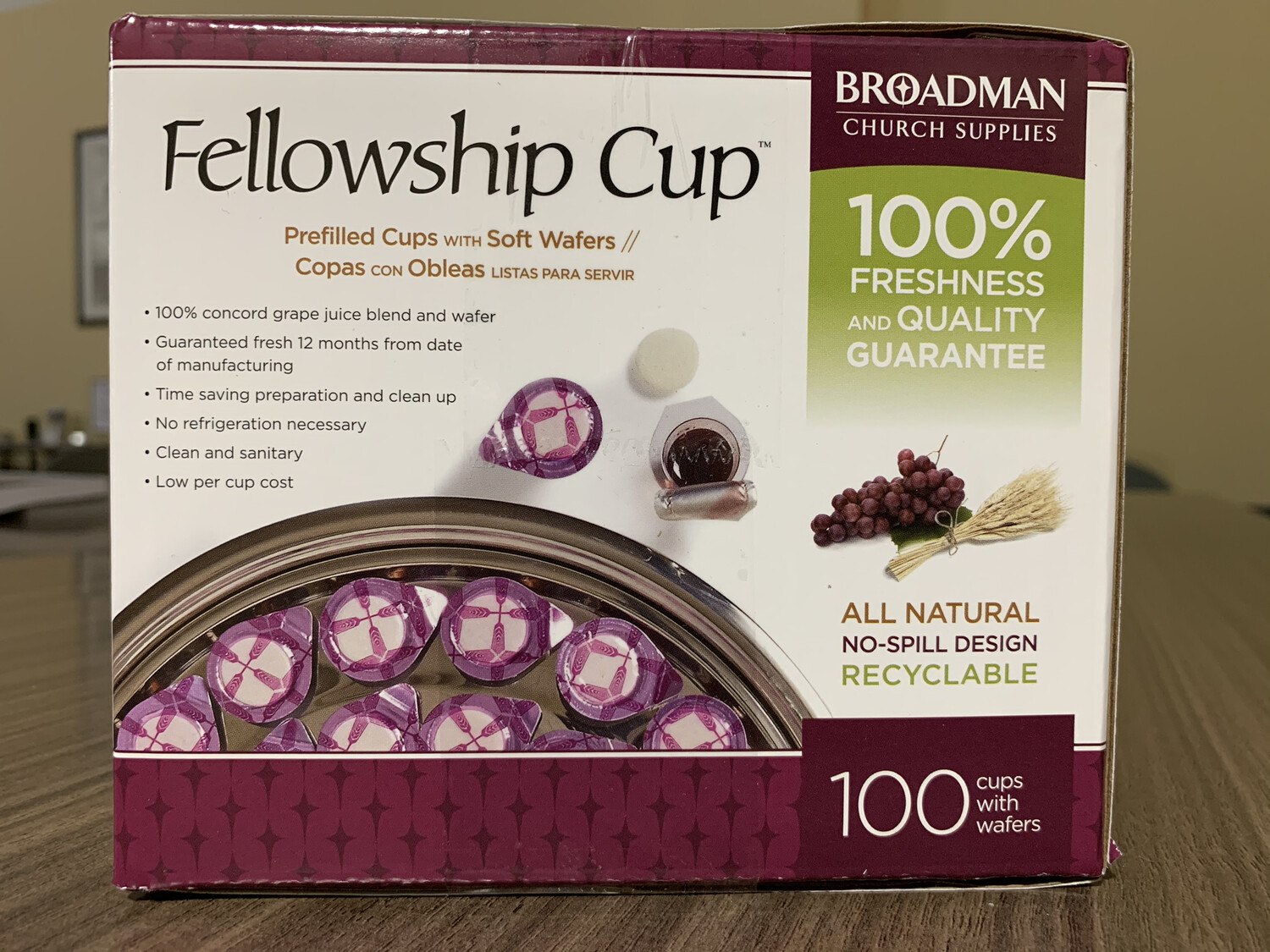 Fellowship Cup Prefilled- 100