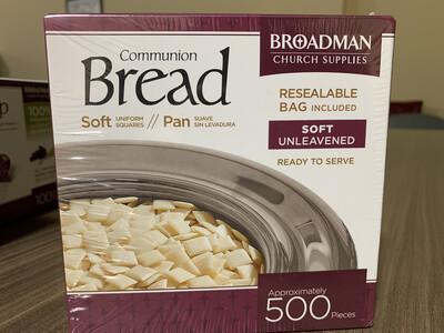 Soft Unleavened Communion - 500 Pieces