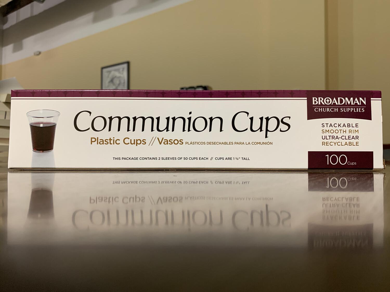Communion Cups, Plastic 100