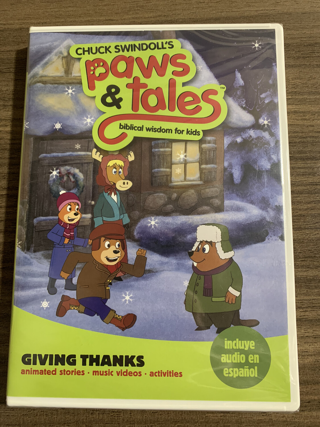 Paws & Tales,  Giving Thanks, DVD