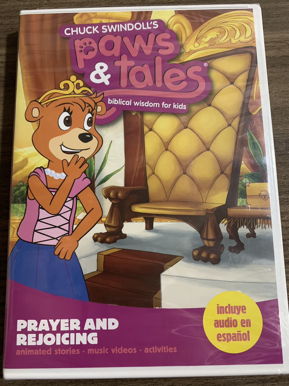 Paws & Tales, Prayer And Rejoicing, DVD