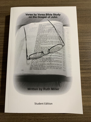 Consign-MILLER, John Verse By Verse Student Edition