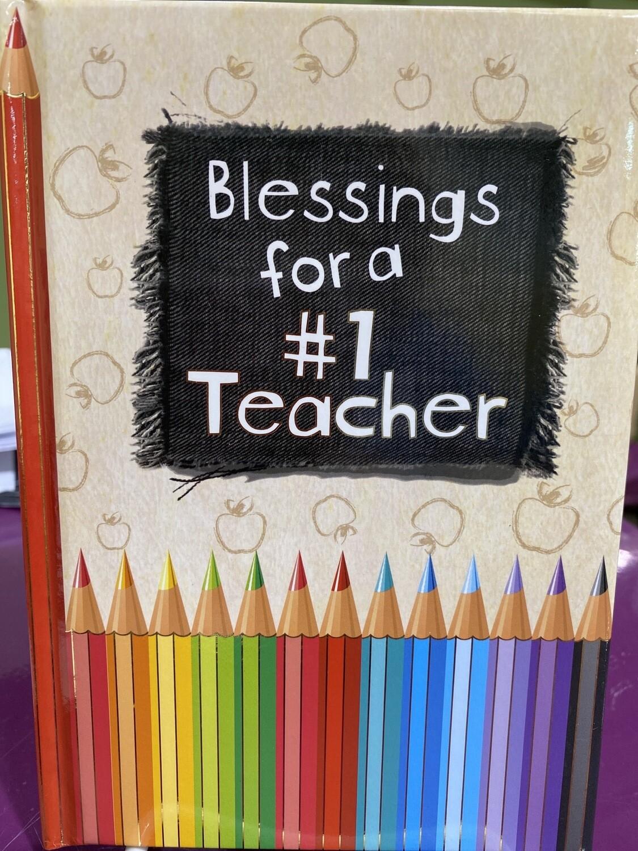 Blessings Teacher Pencil Book
