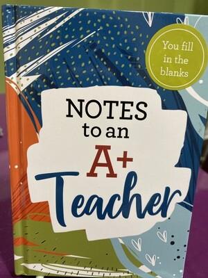 Notes A+ Teach Notes