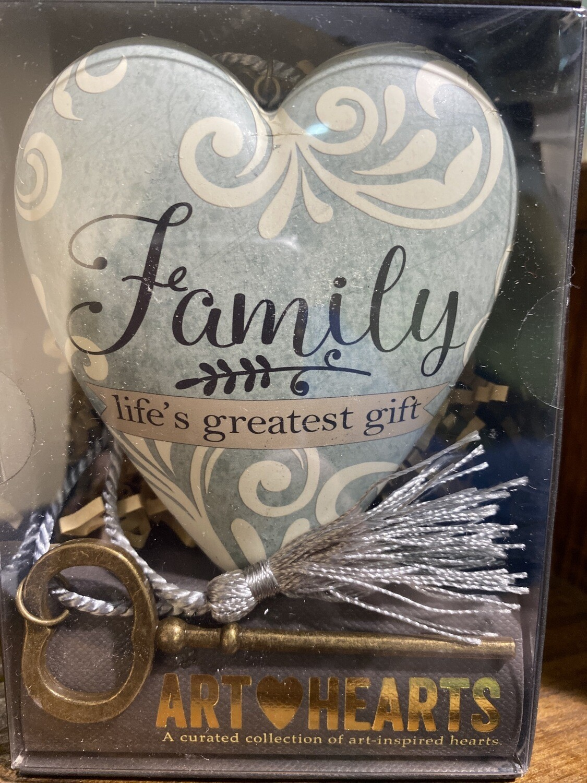 Family Life's Greatest Gift Heart Art