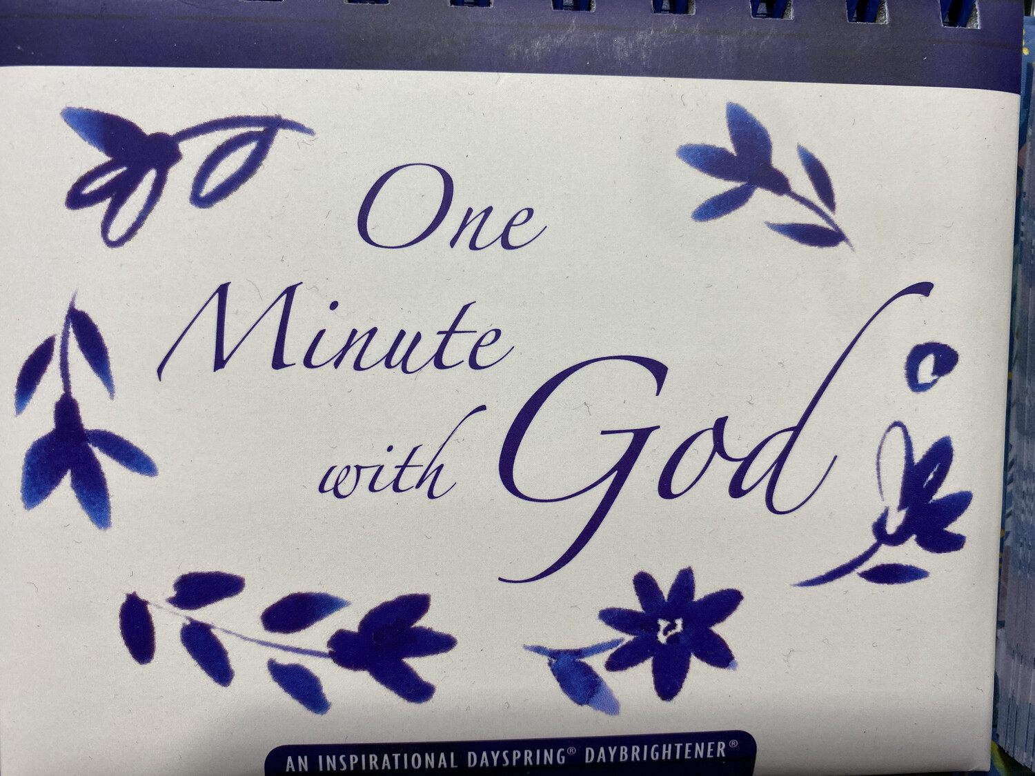 DayBrightener One Minute With God