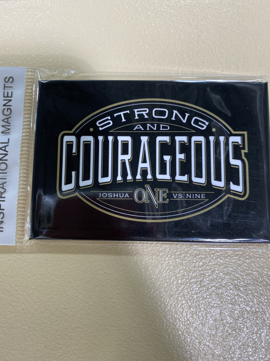 Strong & Courageous Magnet
