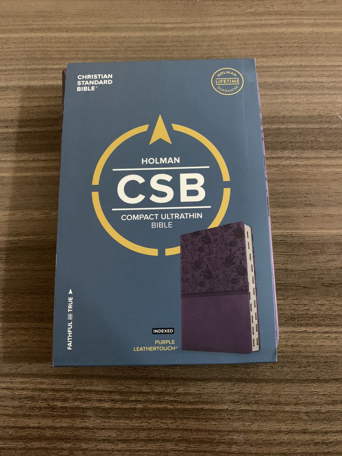 CSB, CSB Compact Ultrathin, Ind, Purple Leathertouch