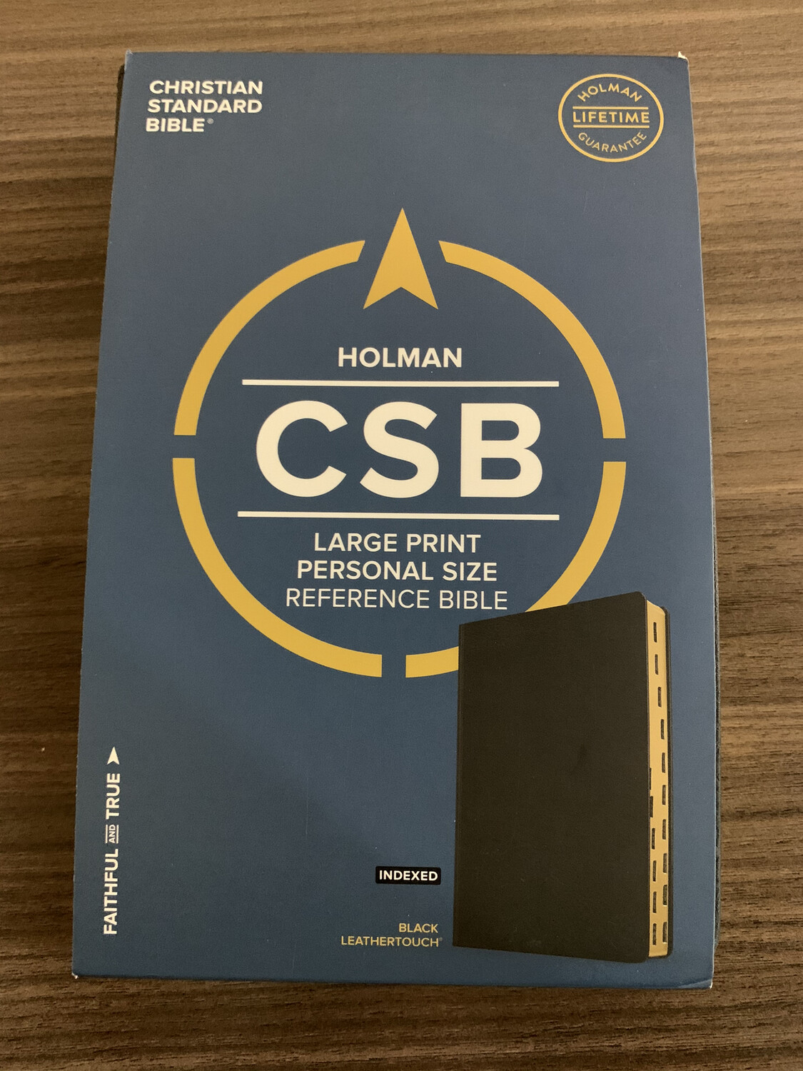 CSB LP Compact Refence Brown Indexed